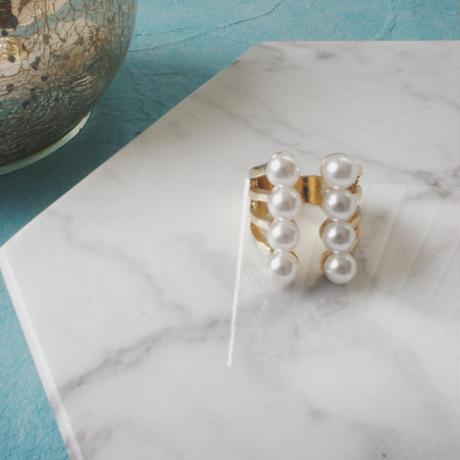 volume pearl ring