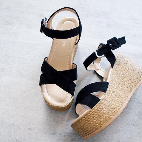 platform sandal(2color)