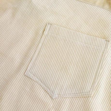 コーデュロイ巻きスカート