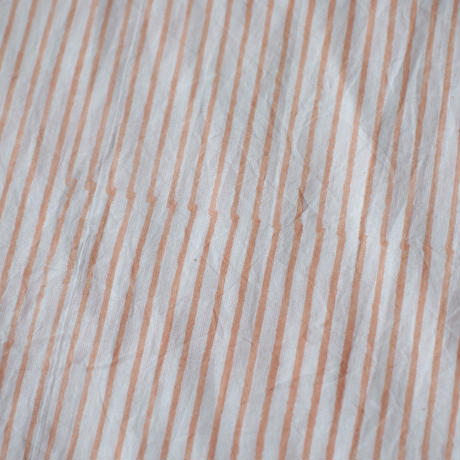 stripe ロングシャツワンピース
