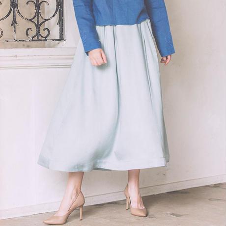 モダールサテンスカート