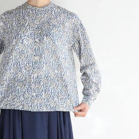 Water lilyコットンシャツ