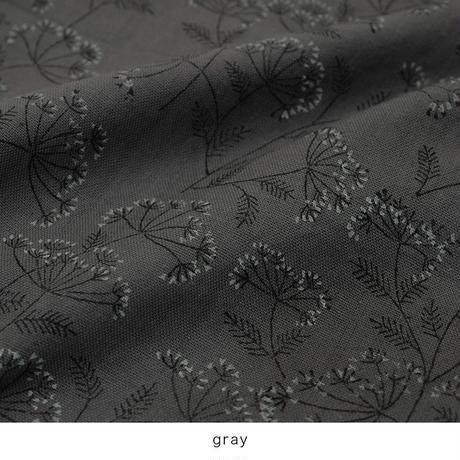 【SALE】lace flower コットンカディワンピース