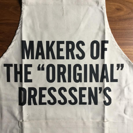 "⭕️限定発売DRESSSEN #67 MAKERS OF THE ""ORIGINAL"" DRESSSEN'S APRON"