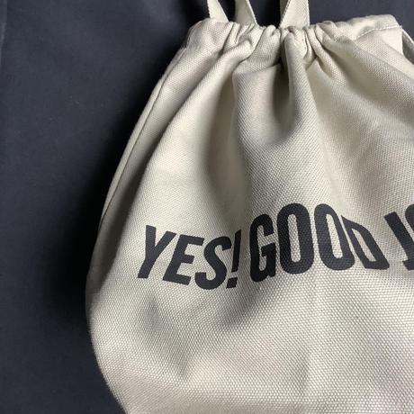 """🔴新発売 SMDSB3 DRESSSEN SMALL DAY BAG """"YES!GOOD JOB!/ DRESSSEN""""    SAND BEIGE"""" COLOR"""