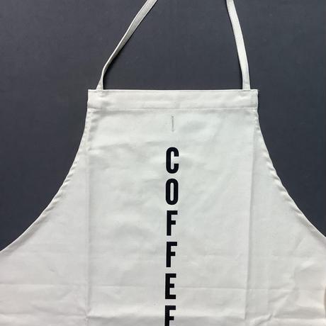 "DRESSSEN   ADULT APRON  #88 ""COFFEE""(縦ロゴ)"
