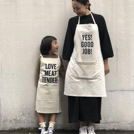 "👦👧DRESSSEN KD10 KIDS APRON  ""WELCOME""(※キッズエプロンです)"