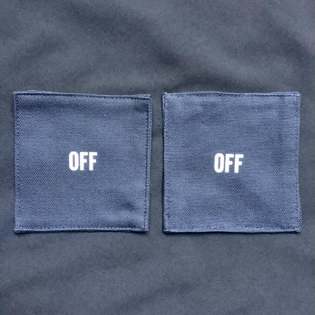 """DRESSSEN   COAN2 REVERSIBLE COASTER """"ON/OFF"""" (DARK NAVY COLOR)"""