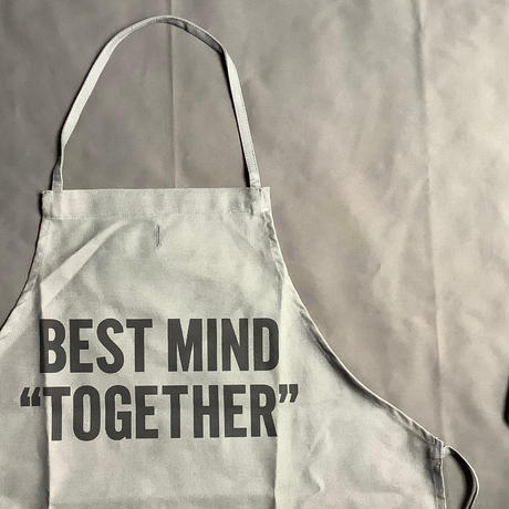"⭕️オンラインストア限定発売RESSSEN DR(GRY)1""BEST MIND TOGETHER "" APRON  ""GREY COLOR"""