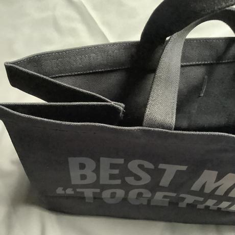 """DRESSSEN  MARKET BAG (LARGE)  MBALBK3 """"BEST MIND TOGETHER""""※BLACK COLOR"""