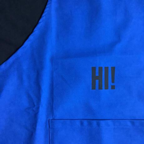 """🔴新発売 DRESSSEN DR(BLU)3 """"HI!""""APRON    BLUE COLOR"""