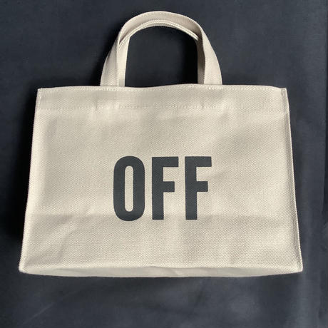 "DRESSSEN  MBAXS4   MARKET  BAG [XーSMALL]""ON/OFF (サンドベージュカラー)"