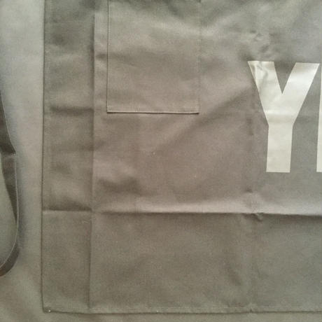 "[新色]DRESSSEN  lower wall long LWLB1 "" YES"" APRON BLACK COLOR"