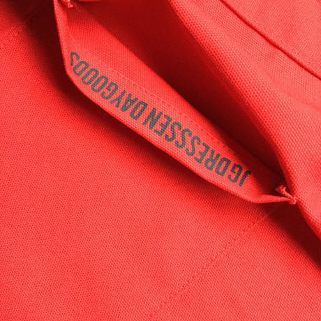 "DRESSSEN  lower wall long LWLB5 "" LETS"" APRON RED  COLOR ⭕️  ※こちらは公式オンラインストアのみの販売です"