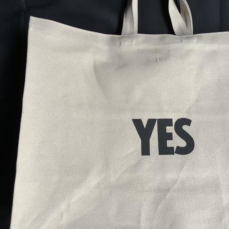"""🔴新発売 DRESSSEN MBSBXL10 MARKET  BAG  XLARGE """"YES/NO THANKYOU※NOには➖線のあります。(サンドベージュカラー)"""