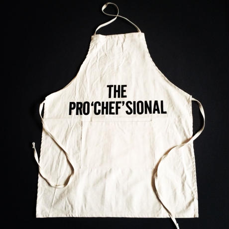 "DRESSSEN ADULT APRON #23 ""THE PRO'CHEF'SIONAL"""