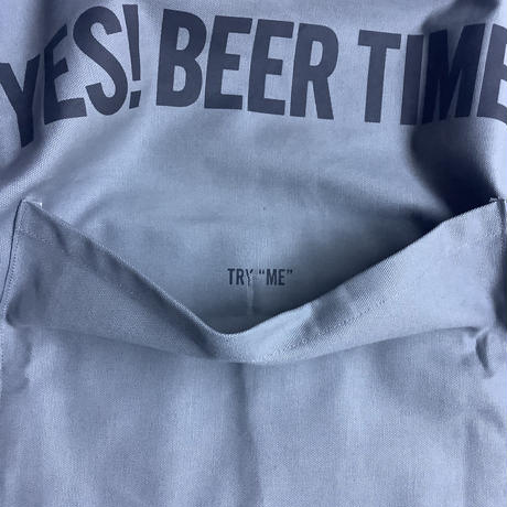 "🔴新型エプロンDRESSSEN  DRVGRY4 REVERSIBLE  APRON""YES!COFFEE TIME!/YES!BEER TIME! ""(リバーシブル)🔴6/5(金)再入荷します"