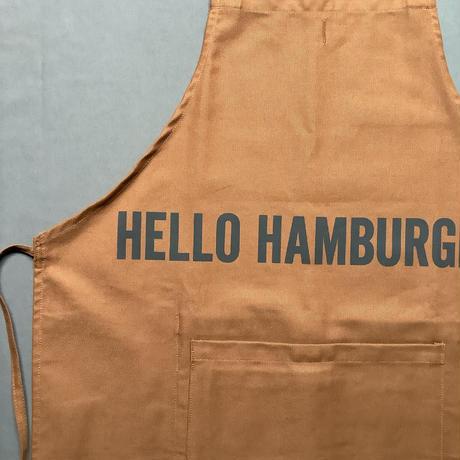 "DRESSSEN  DRVBRN5 REVERSIBLE  APRON""HELLO HAMBERGER/HELLO JUICY (リバーシブルエプロン)"