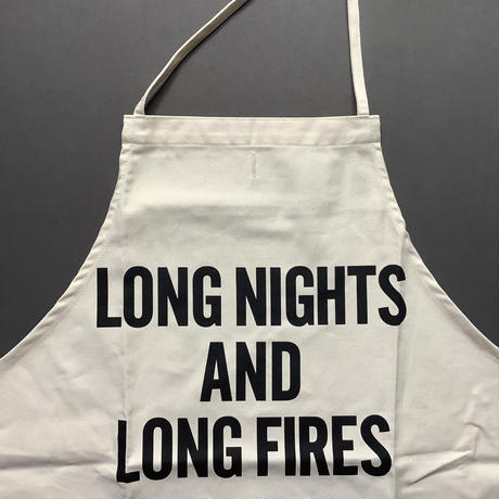 DRESSSEN ADULT APRON #54 LONG NIGHTS AND LONG FIRES