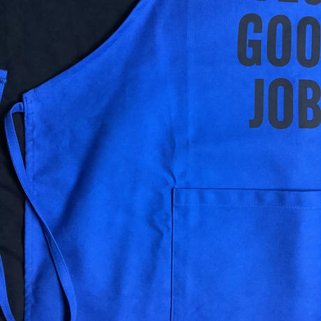 "🔴新発売 DRESSSEN DR(BLU)2 ""YES! GOOD JOB!""APRON   BLUE COLOR"