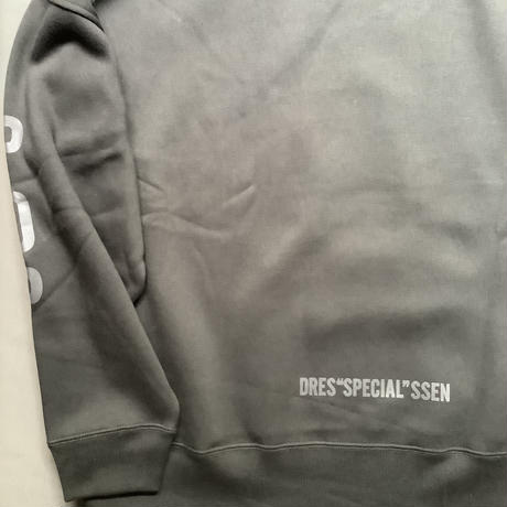 "DSS9 DRES""SPECIAL""SSEN  SWEAT  YES DRESSSEN (BLACK COLOR)   BLKロゴ  ※袖にPOPとLETSのプリント"