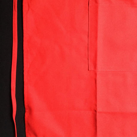 "DRESSSEN DR(RED)2 ""YES""! GOOD JOB!""APRON   RED COLOR"