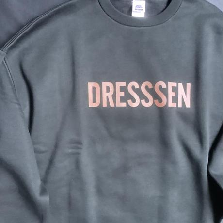 """[オンラインストア限定発売]DSS10 SWEAT  SHIRTS """"  DRESSSEN """"(BLACK COLOR)   REDロゴ"""