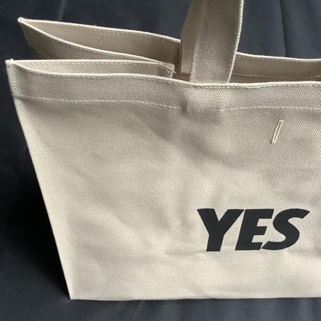 """🔴新発売DRESSSEN  MARKET BAG [◉LARGE]  MBSBL11 """"YES/NO ※NOには➖線があります。(サンドベージュカラー)"""