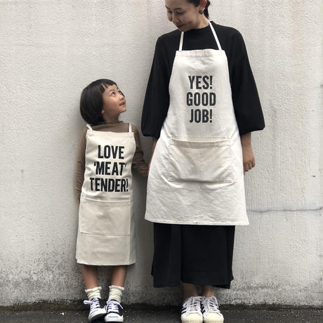 DRESSSEN KD17 KIDS APRON  THE WEEKEND(※キッズエプロンです)