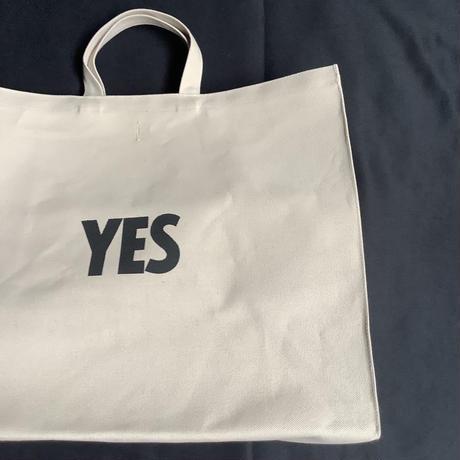 """🔴新発売 DRESSSEN MBSBXL11 MARKET  BAG  XLARGE """"YES/NO ※NOには➖線のあります。(サンドベージュカラー)"""