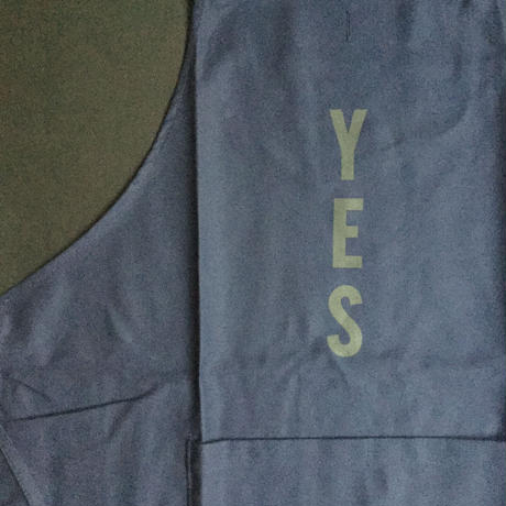 "DRESSSEN DR(NAVY)16  APRON ""YES ""NAVY COLOR"