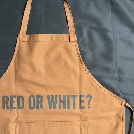 """🔴新発売 DRESSSEN  DRVBRN6 REVERSIBLE  APRON""""HELLO WINE/RED OR WHITE?(リバーシブルエプロン)"""
