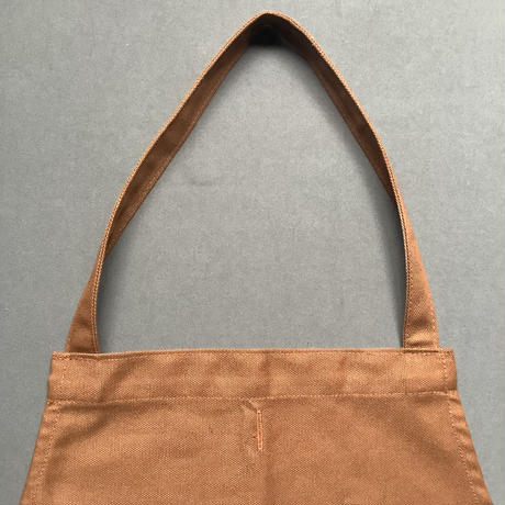 """DRESSSEN  DRVBRN4 REVERSIBLE  APRON""""HELLO COFFEE/YES!RELAX  TIME(リバーシブルエプロン)"""