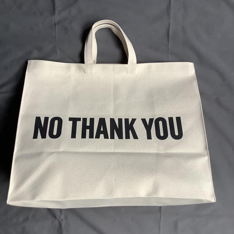 "⭐️新発売 DRESSSEN MBXL1    MARKET  BAG  XLARGE ""YES/NO THANKYOU"