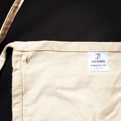 "DRESSSEN  LW14 LOWER WALL APRON  ""GREATFUL""(腰巻きエプロンです)"