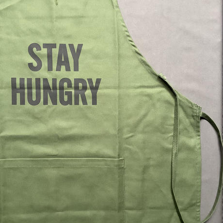 """DRESSSEN DR(GRN)3 """"STAY HUNGRY""""APRON"""