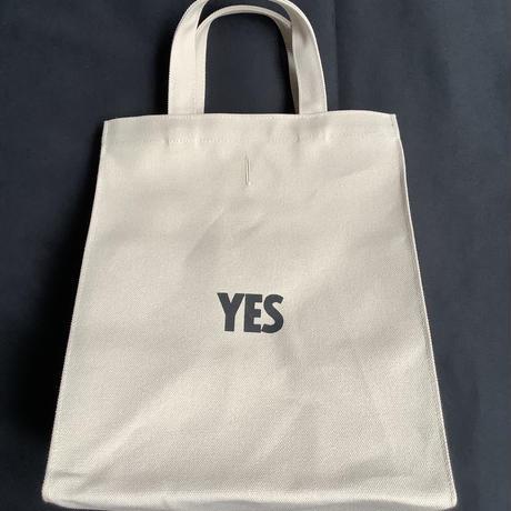 """DRESSSEN MBASBS MARKET BAG   (SMALL)   """"YES/NO THANK YOU※NOには➖線があります  (サンドベージュカラー)"""