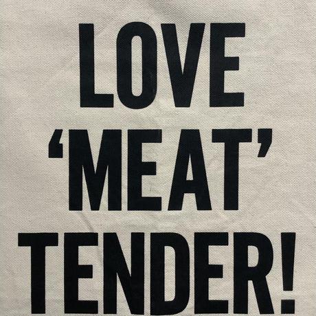 "DRESSSEN ADULT APRON #26 ""LOVE 'MEAT'TENDER!"""