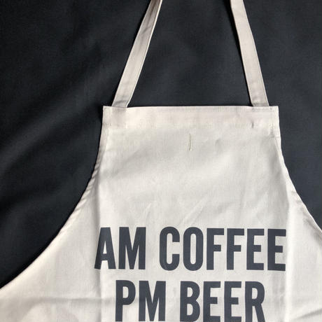 "⭕️[新型エプロン] DRESSSEN   WPA8  DAY USE W POCKET  APRON   ""AM COFFEE PM BEER"""