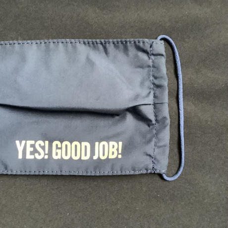 "🔴新発売 MKDN2 DRESSSEN  MASK""YES!GOOD JOB!""   (NAVY COLOR)"
