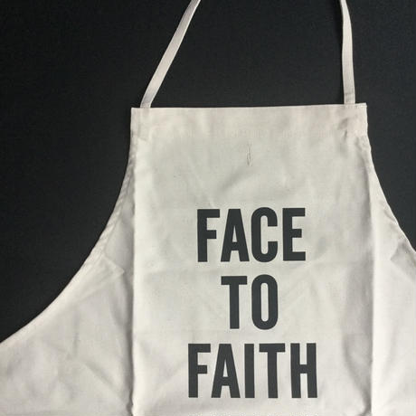DRESSSEN ADULT APRON  #79 FACE TO FAITH