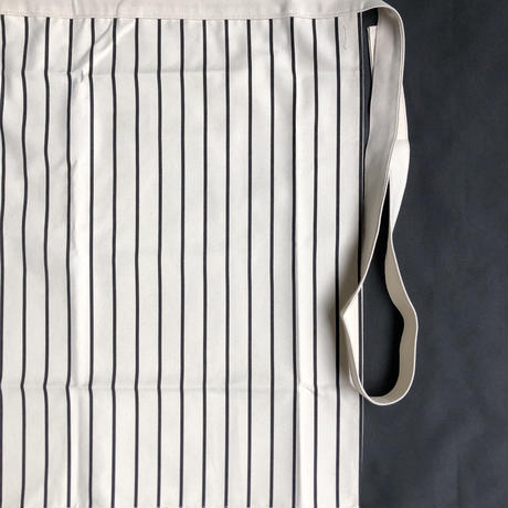 "⭕️新色 DRESSSEN LWLS2 LOWER WALL ""STRIPE"" APRON    NATURAL   COLOR"