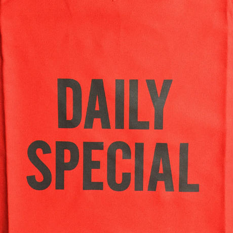 "DRESSSEN DR(RED) 3 ""DAILY SPECIAL ""APRON   RED COLOR"