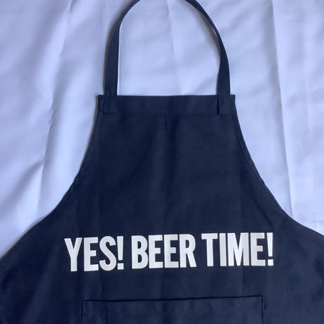 "DRESSSEN  DRVNY5 REVERSIBLE  APRON""YES!COFFEE TIME/YES!BEER TIME!""(リバーシブル)"