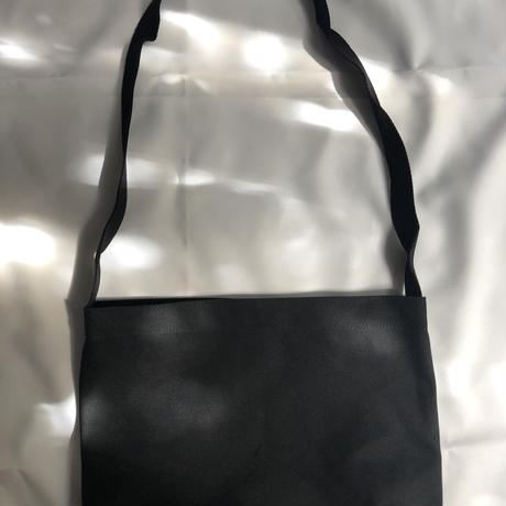 "DRESSSEN  SHOULDER BAG DB AM COFFEE PM BEER""""BLACK COLOR"