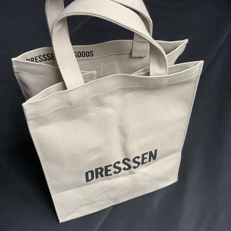 """🔴新発売DRESSSEN  MBASBS13 MARKET BAG   (SMALL)   """"YES!GOOD JOB!/ DRESSSEN"""