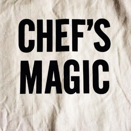 "DRESSSEN ADULT APRON  #30 ""CHEF'S MAGIC"""