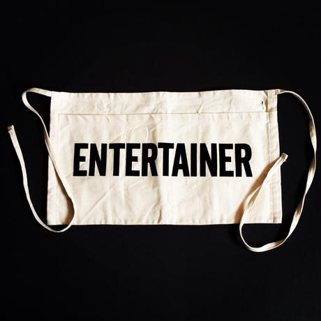 "DRESSSEN LW4 LOWER WALL APRON  ""ENTERTAINER""(腰巻きエプロンです)"