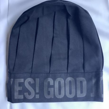 "DRESSSEN  CCDN3 CHEF'S  CAP ""YES!GOOD  JOB!(ダークネイビーカラー)"