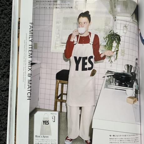 "DRESSSEN ADULT APRON #12"" YES"" ※新デザイン(裏側にNO THANKYOU プリント入り)"